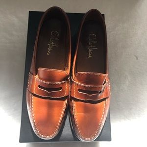 Cole Haan Brown laurel's loafers.